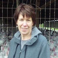 Beverly Pounds helps run the year-round Pounds Turkey Farm in Westmoreland County.