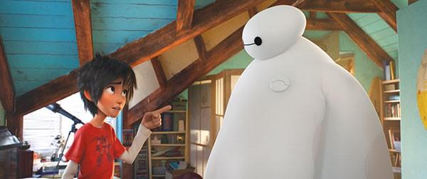 Big Hero 6 Disney-Pixar's new animated film