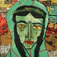 Bill Miller's linoleum art highlights a show at Gallerie Chiz
