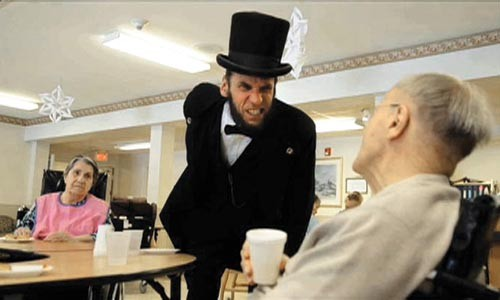 """Bill Wade's """"Rick Miller and Abe Lincoln"""""""