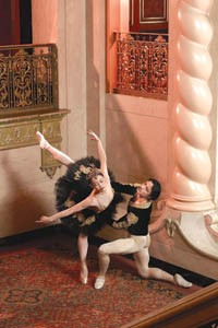 Birds of a feather: Ying Li and Jiabin Pan star in Swan Lake.  - PHOTO BY RIC EVANS