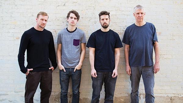 Black Flag (from left: Mike Vallely, Brandon Pertzborn, Tyler Smith and Greg Ginn)