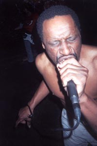 Bobby Porter sings in Italy in 2008. - PHOTO COURTESY OF DANA BARKER.