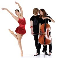 Bodiography collaborates with Cello Fury on Heart (Function vs. Emotion). - PHOTO BY ERIC ROSE