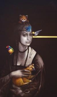 Borelli-Edwards Galleries presents Endangered, Elizabeth Castonguay, paintings
