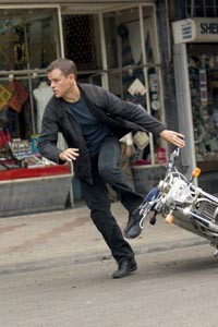 Bourne again: Matt Damon returns as the enigmatic spy.