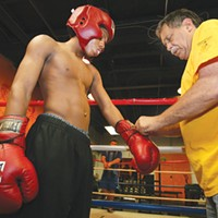 Boxing instructor Jimmy Cvetic