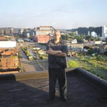 Braddock Mayor John Fetterman - HEATHER MULL