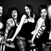The gals of the Bridge City Bombshells try their burlesque chops out on live jazz.