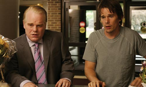 Brothers in armed robbery: Philip Seymour Hoffman and Ethan Hawke