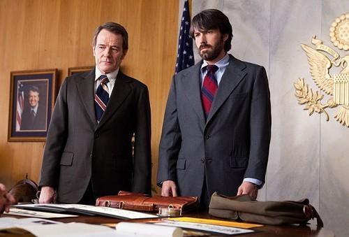 Bryan Cranston and Ben Affleck in Argo