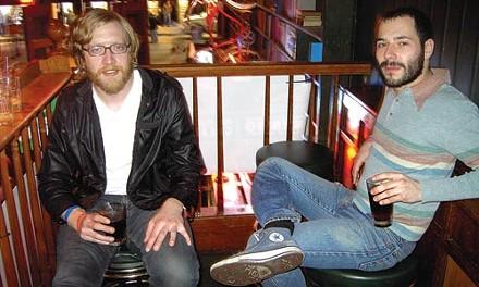 Business secrets: Black Tie Revue's John-Paul McCormick (left) and Matt Hanzes