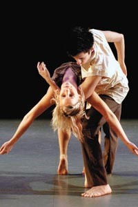 """Cailan Orn and Sebastian Mersch in Marissa Balzer's """"Things Behind the Sun"""" - COURTESY OF POINT PARK UNIVERSITY"""