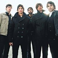 Canadian overcoats: Sam Roberts Band