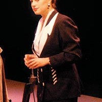 Career opportunities: Elizabeth Day Strasner in Top Girls, at the Playhouse Conservatory.