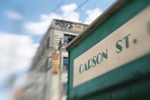 Carson St. Deli, a landmark sandwich shop - PHOTO: HEATHER MULL