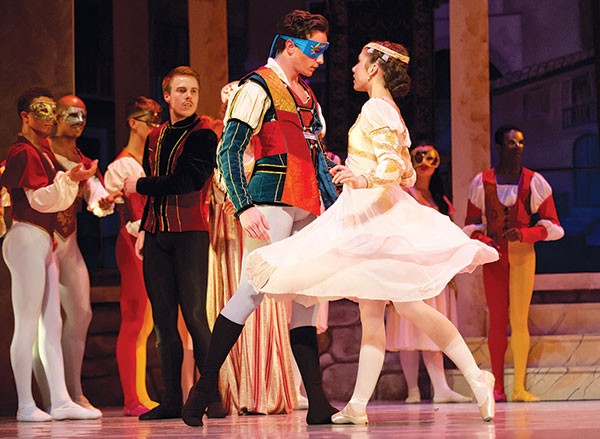 Cassidy Burk in the Conservatory Dance Company's Romeo and Juliet