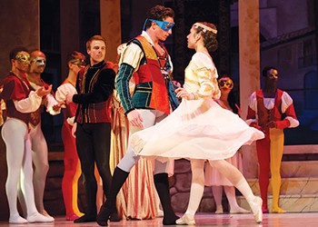 <i>Romeo and Juliet</i> ballet at the Conservatory Dance Company