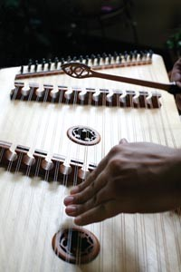 Catalyst: The hammered dulcimer provided Tamburo with a fresh sound and creative framework - HEATHER MULL