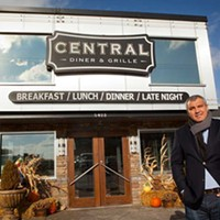 Central Diner Central Diner owner Dimitri Takos Photo by Heather Mull