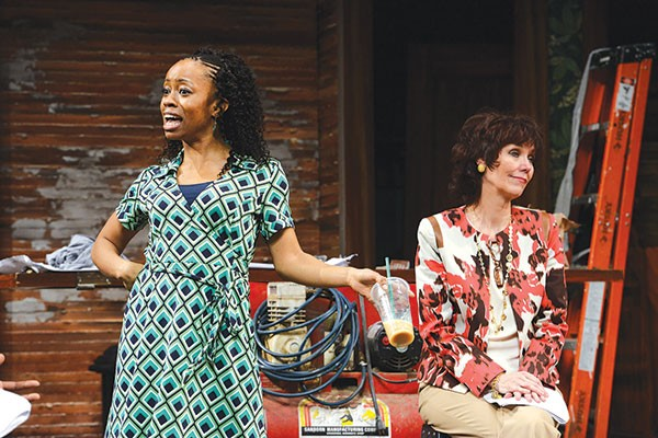chandra thomas (left) and Lynne Wintersteller in Pittsburgh Public Theater's Clybourne Park