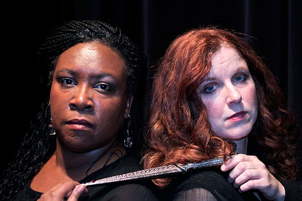 Charlene Canty and Kelly Lynch in Norma. - PHOTO COURTESSY OF REBECCA ANTAL