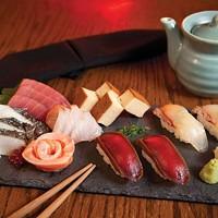 Chef's nagiri/sashimi sampler