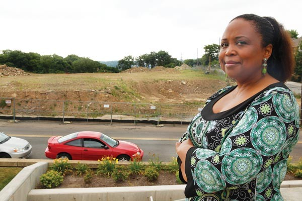Cheryl Hall-Russell, CEO of the Hill House, hopes to soon see a grocery store going up on Centre Avenue.