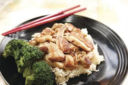 Chicken teriyaki - HEATHER MULL
