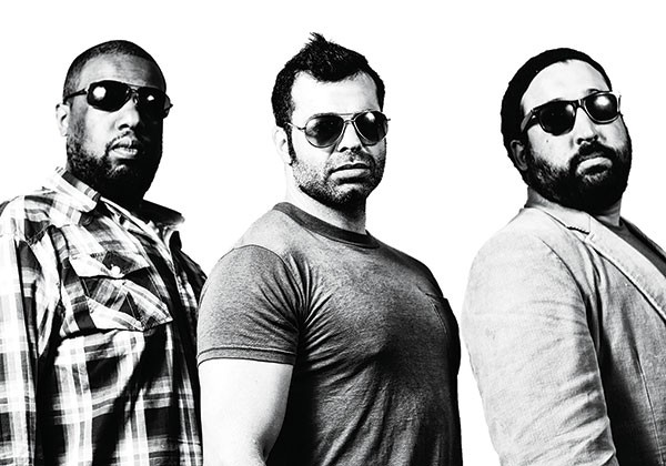 Chrome Moses (from left: Clarence Grant II, Joe Piacquadio, T.J. Connolly)
