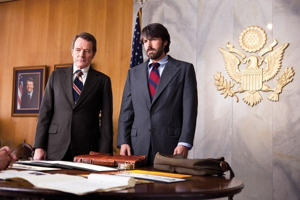 CIA movie-makers: Bryan Cranston and Ben Affleck