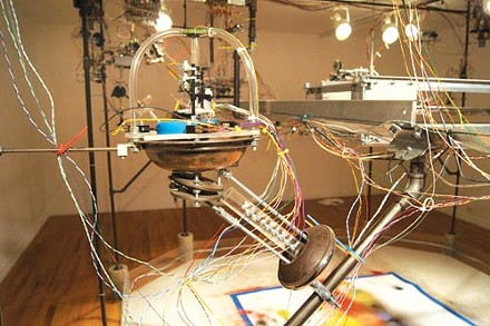 "Circuit rider: Adam Shreckhise's ""Portrait of the Artist as a Machine (PAM)."""