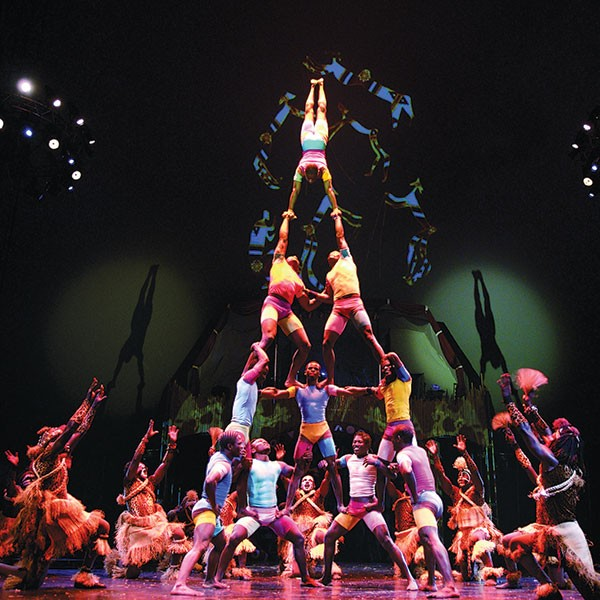 Cirque Zuma Zuma at Hillman Performing Arts Series