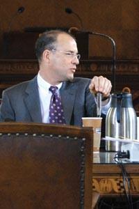 City Councilor Bruce Kraus