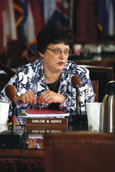City Councilor Darlene Harris