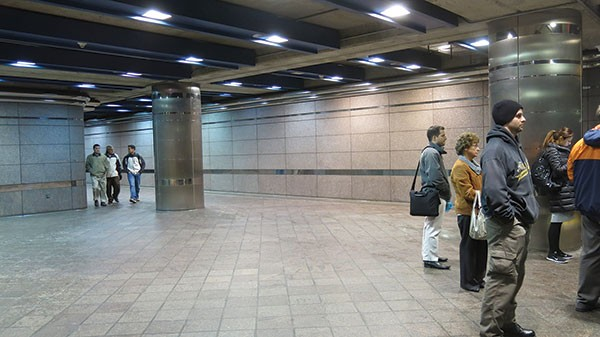 Classical Music in the Wood Street T Station