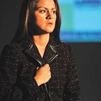 Claudia Duran in Camino.