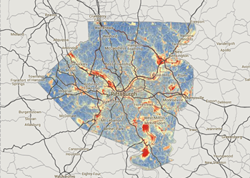 CMU and Breathe Project present interactive air quality maps for Allegheny County