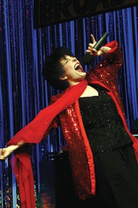 Come to the cabaret: Christina Laitta takes apart Liza in Forbidden Broadway.