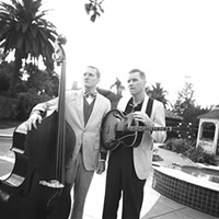 Coming Soon:  Two Man Gentlemen Band at Thunderbird Café, Oct. 4