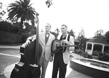 Coming Soon:  Two Man Gentlemen Band at Thunderbird Café, Oct. 4