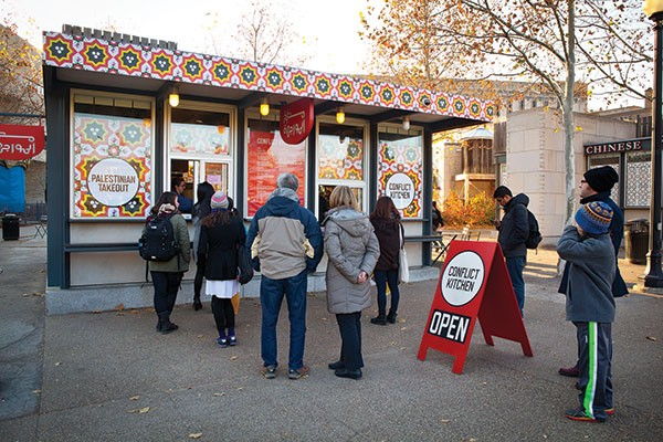 Conflict Kitchen re-opened after death threats closed it earlier this month