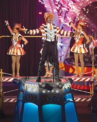 CONSOL Energy Center this week, as Ringling Bros. and Barnum and Bailey Circus