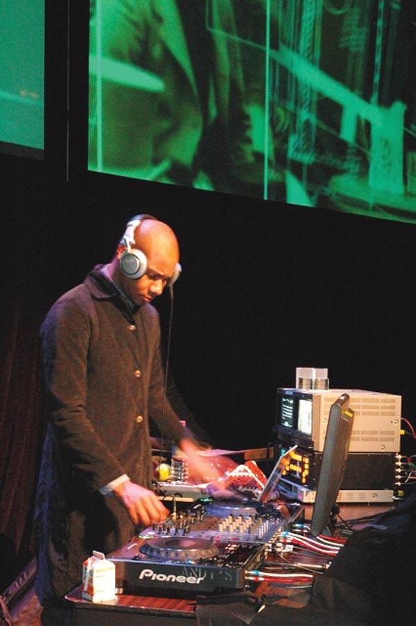 Cooler than cool: DJ Spooky