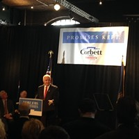 Corbett Campaign Kicks Off in Pittsburgh
