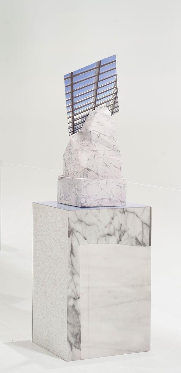 Corey Escoto's sculpture