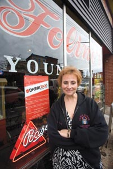 County bar owners like Penny Folino say the county needs to get Port Authority costs in line instead of trying to institute a 10-percent drink tax. - PHOTO BY HEATHER MULL