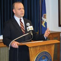 County Executive Dan Onorato is the key to achieving domestic-partner benefits for county employees. - CHRIS YOUNG