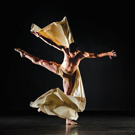 Dancer Gabriel Gaffney Smith. - PHOTO COURTESY OF NICHOLAS COPPULA