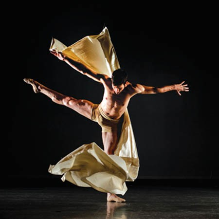 Dancer Gabriel Gaffney Smith. - PHOTO COURTESY OF NICHOLAS COPPULA